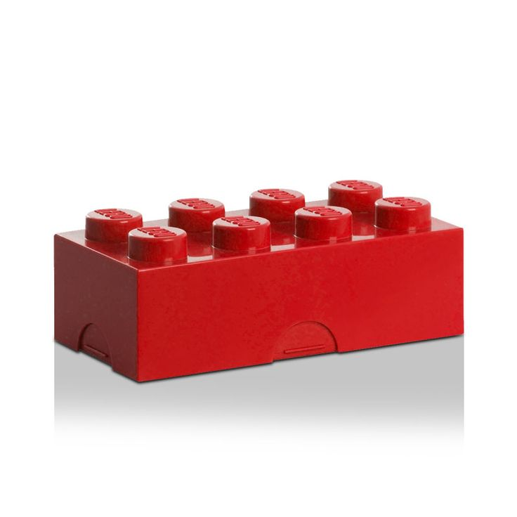 Lego Lunchbox 8, Red