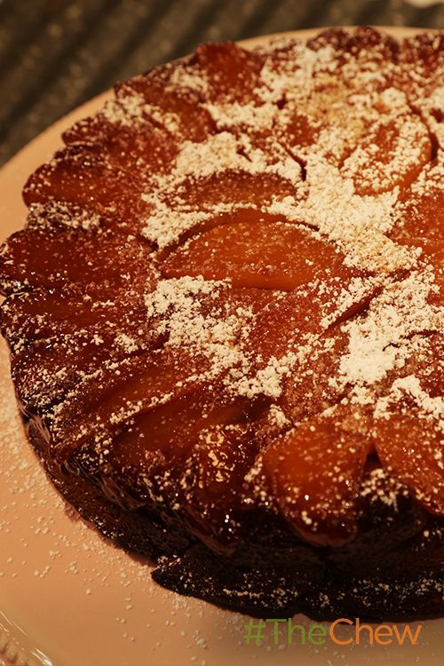 This Upside Down Apple Cake is a sweet Fall treat!