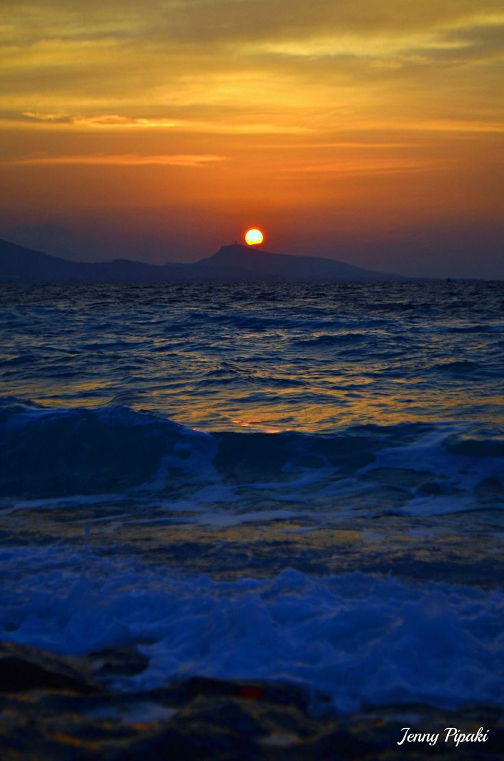 Sunset at Rhodes ..