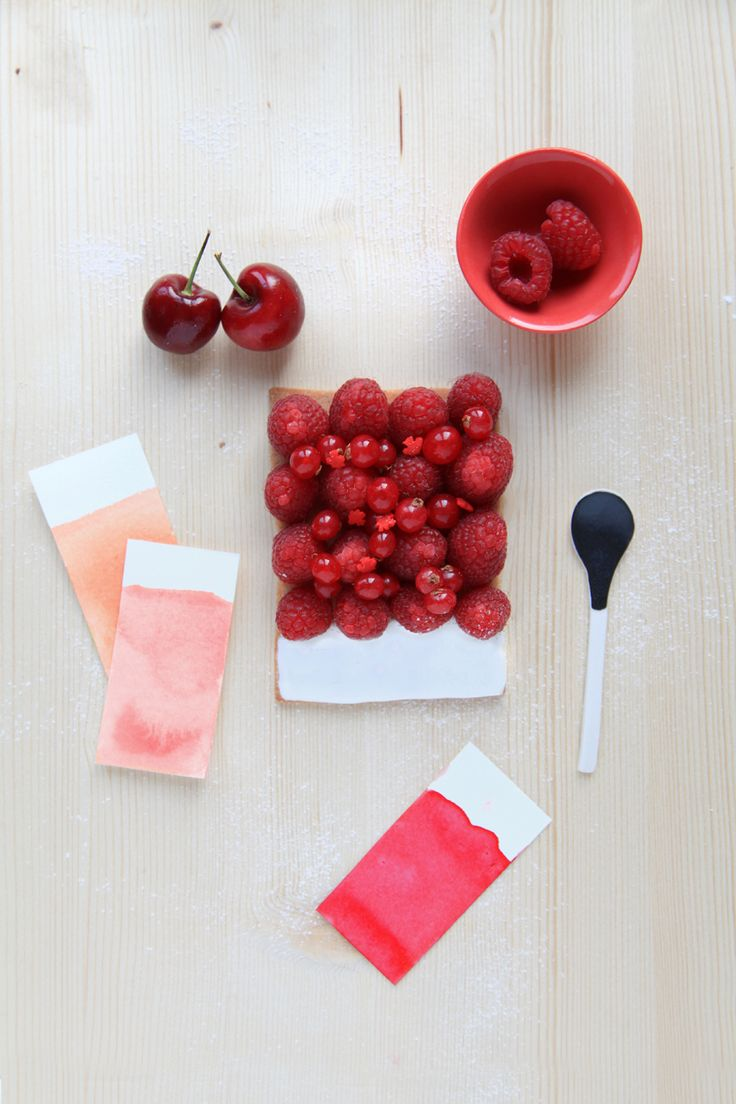 Choose your color | Griottes, palette culinaire: