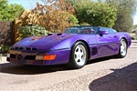 Speedster #7 purple over pink (yes PINK)