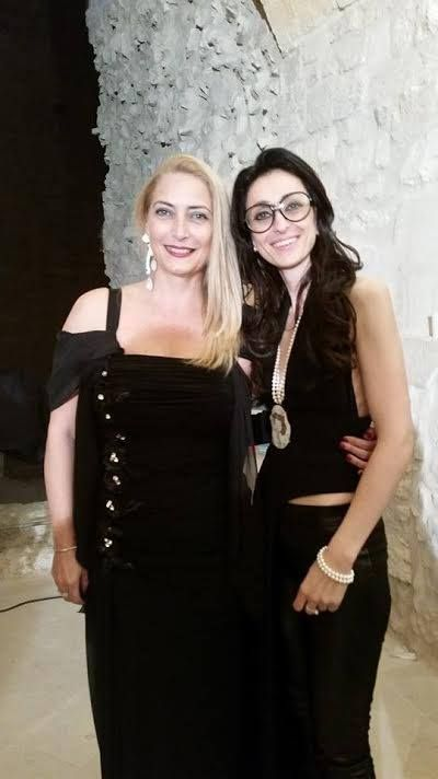 """With Carmen Martorana - Organizzation & Management of """"The Look of The Year 2014"""""""