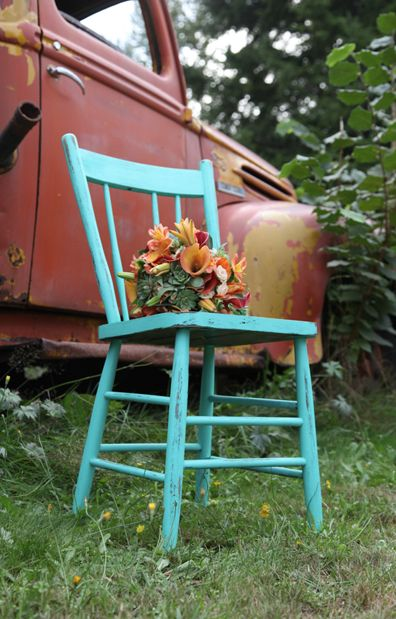 Orange / Rust and Teal Larissa and Richie | Teal and Rust |Rust-ic Chic  Backyard Celebrations