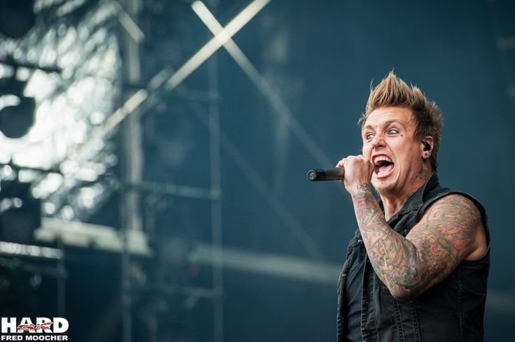 Jacoby Shaddix, Papa Roach - Hellfest 2013 by Fred Moocher