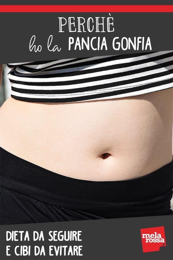 dieta per sgonfiare la pancia donna