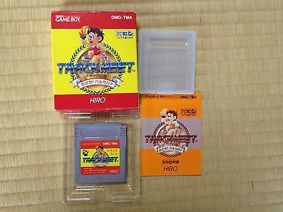 Track Meet Mezase Barcelona Game Boy Japan boxed set Nintendo