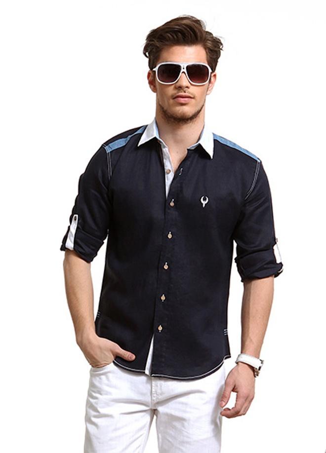beCool Men Keten gömlek Markafonide 59,90 TL yerine 29,99 TL! Satın almak için: http://www.markafoni.com/product/3837711/