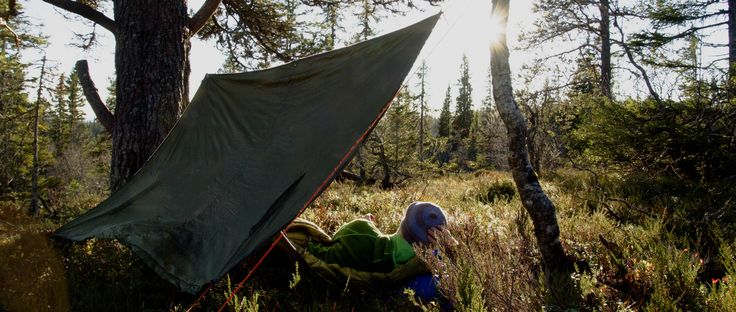 Wake up to fresh air and sun in your eyes! #Helsport #Tarp #Fjellduk