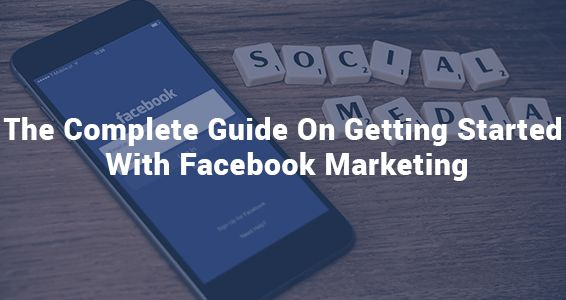 Learn how to get started with Facebook #marketing easy and fast. It's important to spread your business as much as you can and Facebook can be one of the best places to do this !