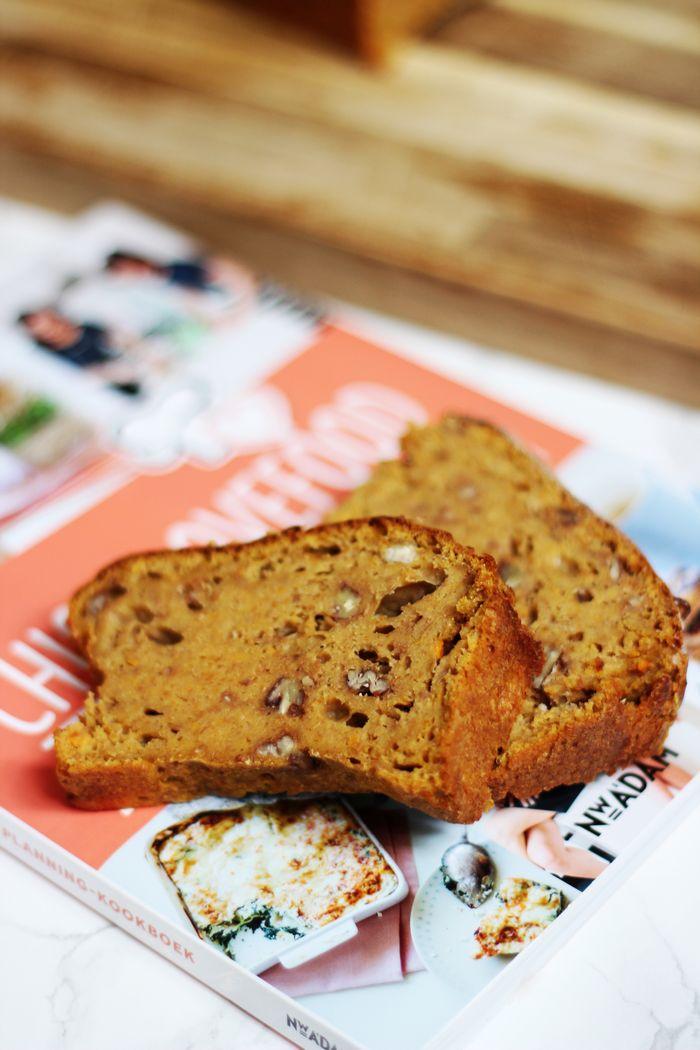 Zoals ik in het artikel over Het Meal Planning-kookboek van Chickslovefood schreef, wilde ik heel graag het zoete aardappelbrood proberen te maken.