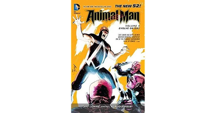 This is it: The final battle for The Red begins here! Teen Titans foe Brother Blood has come to claim the mantle of avatar from Animal Ma...