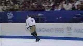 Philippe Candeloro - 1998 Oly - D'Artagnan (Perfect Quality) - YouTube
