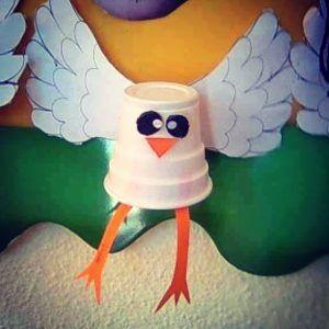 paper-cup-bird-craft-idea