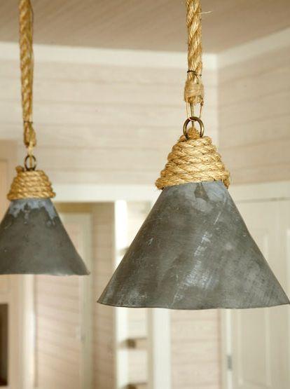 HOME & GARDEN: 35 idées pour mettre de la corde dans sa déco