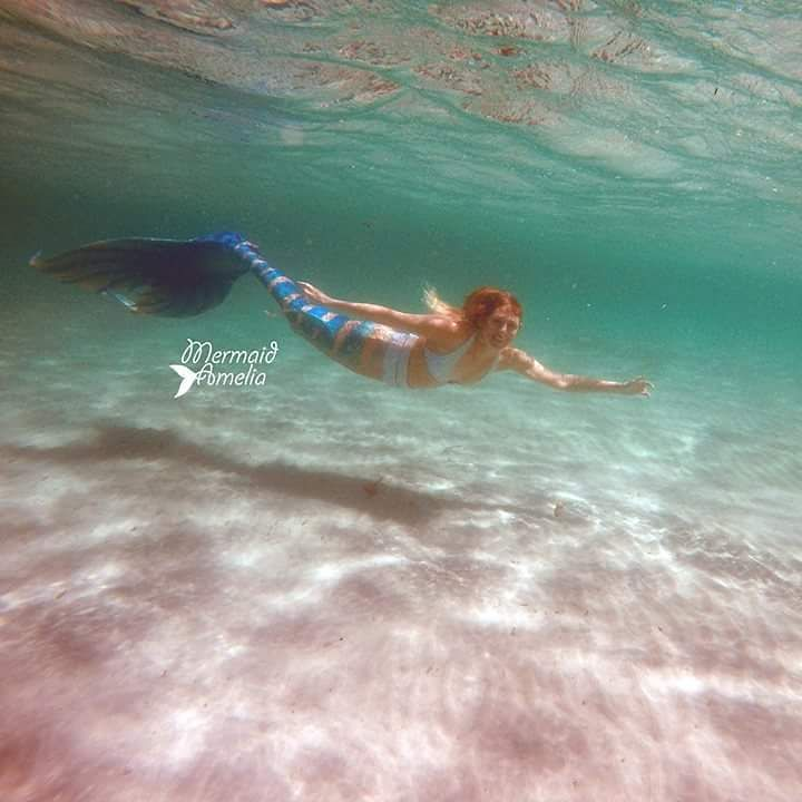 Swimming at Woodman point earlier in the year. Photo by @mermaidjessicapearl & @perthmermaids Tail by @finfolkproductions Bikini by @todieforswimwear #mermaids #mermaid #perthmermaids #perthmermaid...