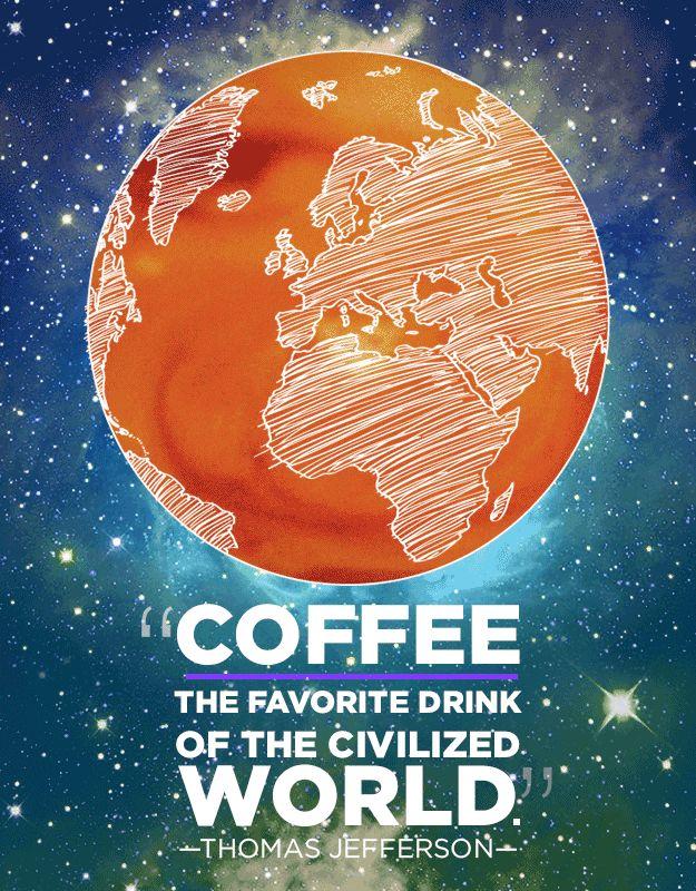12 ótimas frases sobre café (transformadas em lindas imagens) | PapodeHomem