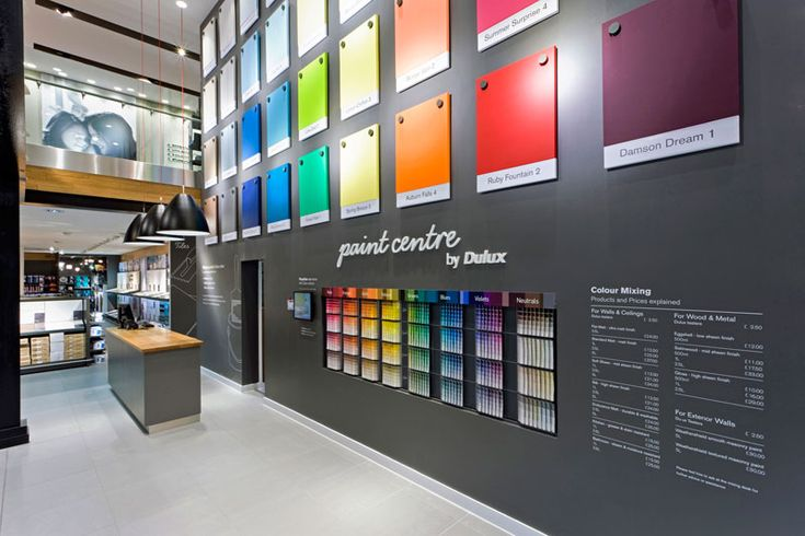 Retail design shop design diy store interior a r e for Homedepot colorsmartbybehr com paintstore
