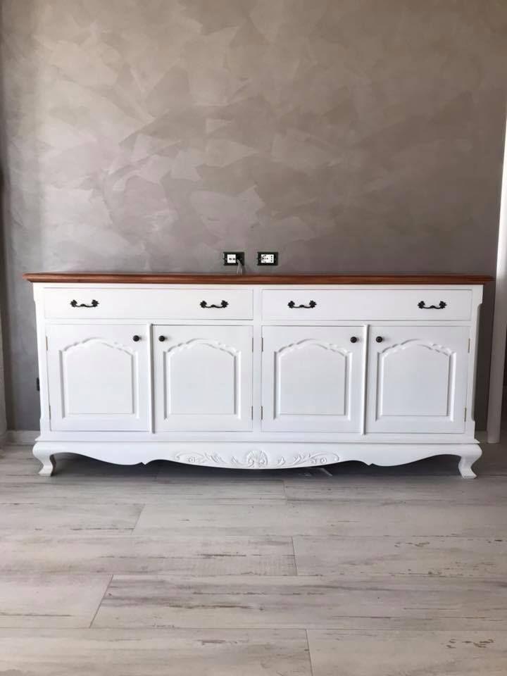 Siete in cerca di idee per arredare la casa al mare in stile shabby chic? Credenza Stile Provenzale Home Decor Decor Furniture