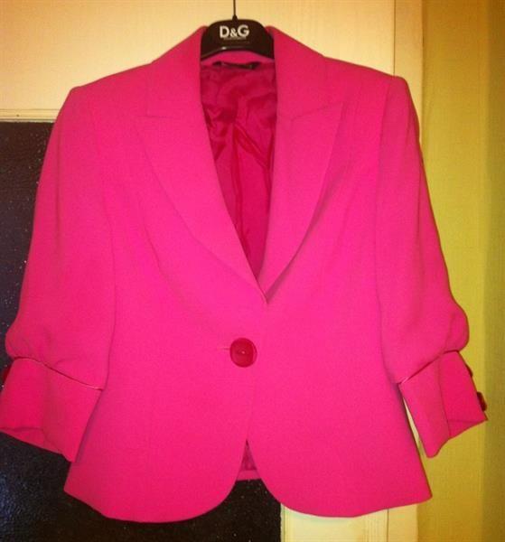 Купить пиджак женский розовый