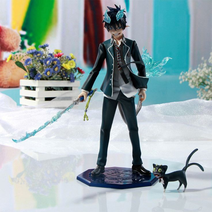 Ao no Blue Exorcist Rin Okumura Figure Japanese Animation Character PVC Collection Kids Toy Hit Christmas Gift