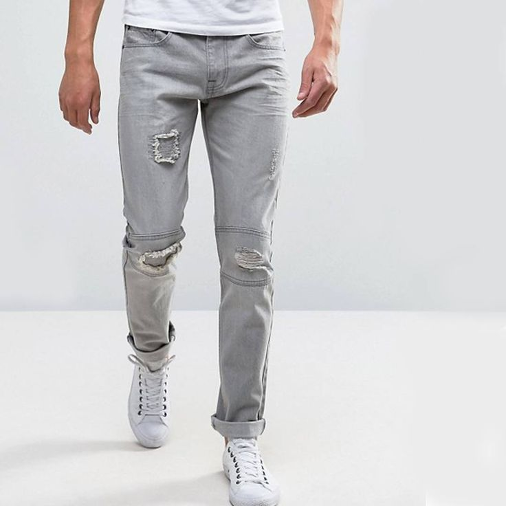 """55 Likes, 3 Comments - Bellfield Clothing (@bellfieldclo) on Instagram: """"F R E D R I C H // Refresh your denim with our slim fit Friedrich jeans featuring a ripped,…"""""""