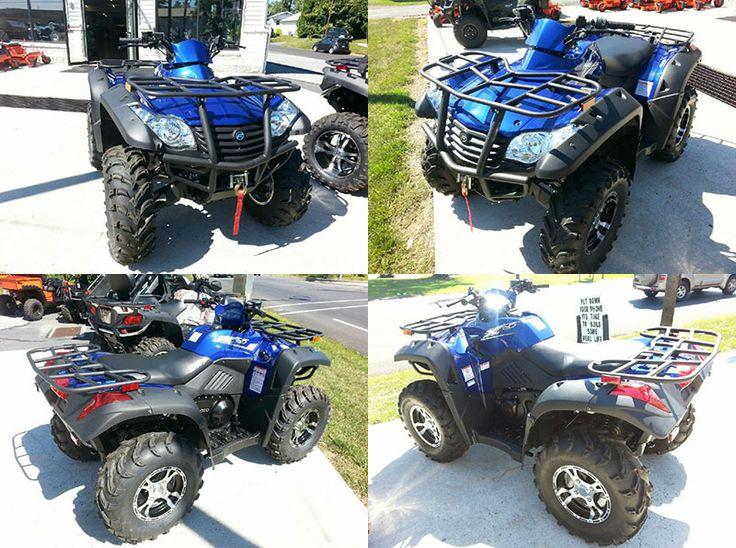Just 1 year old #Cfmoto CForce 500 is solid performer #Four_Wheeler_ATV with a proven 493 cc single cylinder, four-valve, four-stroke engine; The 2,500 pound winch is standard. It is all heart. Ride with confidence and control with great suspension, brakes and full four-wheel drive lockup when you need it. So if you're interested to purchase this fantastic ATV, then please contact Karns Performance, Find more #Used_ATVs at UsedATVsWorld.Com