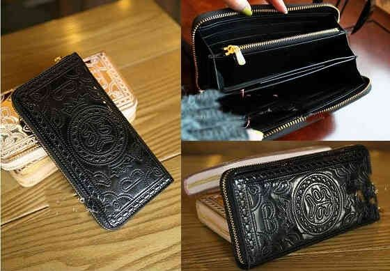 Classic black long-wallet  MUST HAVE !!