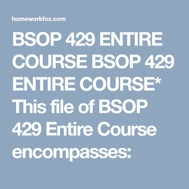 bsop 326 course project part 2 Bsop 326 course tutorial snaptutor lovelyflowers546 25 views.
