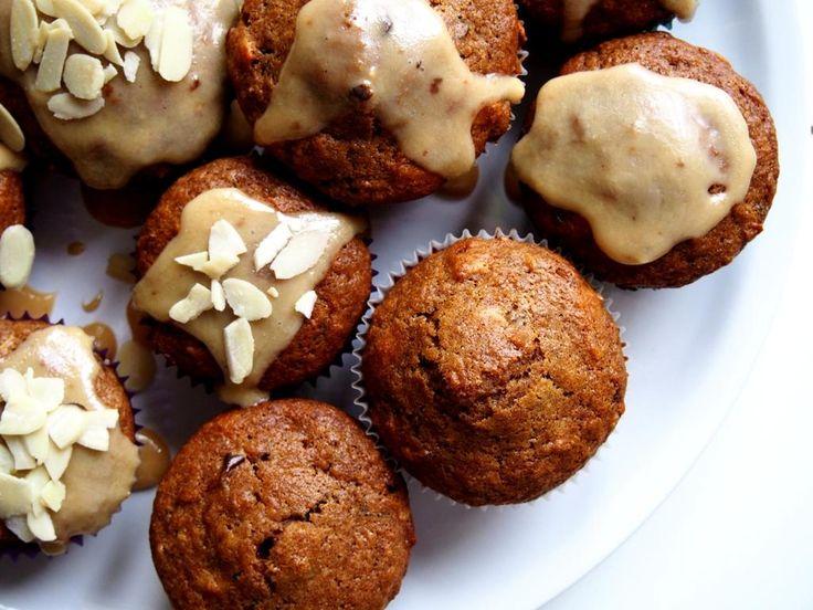 Jablečné muffiny s kokosovým cukrem