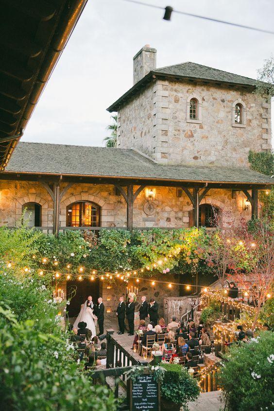 reception mariage vignoble nature