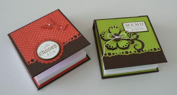 bloc post it bo tes et cadeaux scrap pinterest scrap id es cadeaux et cadeau. Black Bedroom Furniture Sets. Home Design Ideas