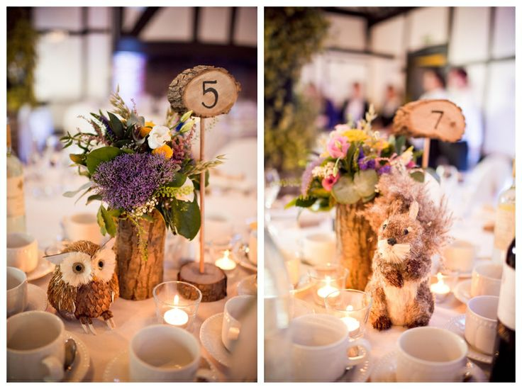 Cute Rustic Table Decorations Rustic Wedding Ideas