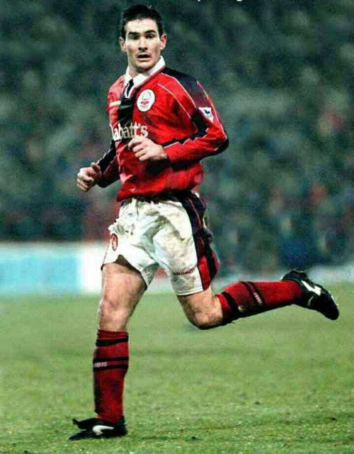 Nigel Clough of Nottingham Forest in 1997.
