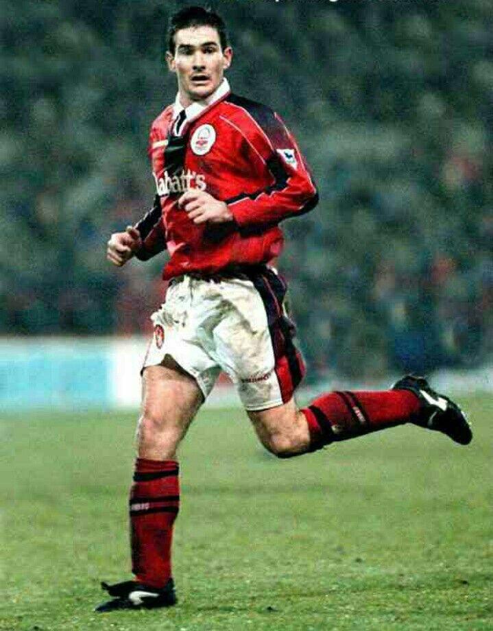 Nigel Clough of Nottingham Forest in 1997.