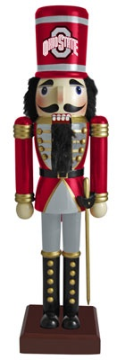 Ohio State Buckeyes Nutcracker Ornament