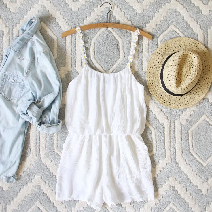 The Willa Romper, Sweet Boho Rompers from Spool 72. | Spool No.72