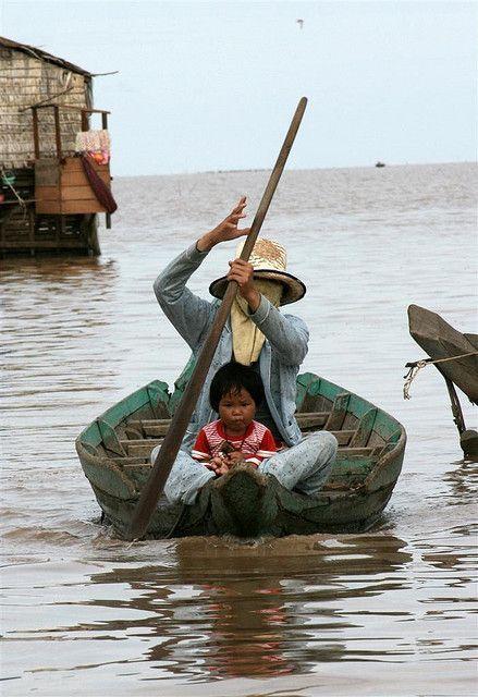 Cambodia - Tonle Sap by Steven Goethals, via Flickr