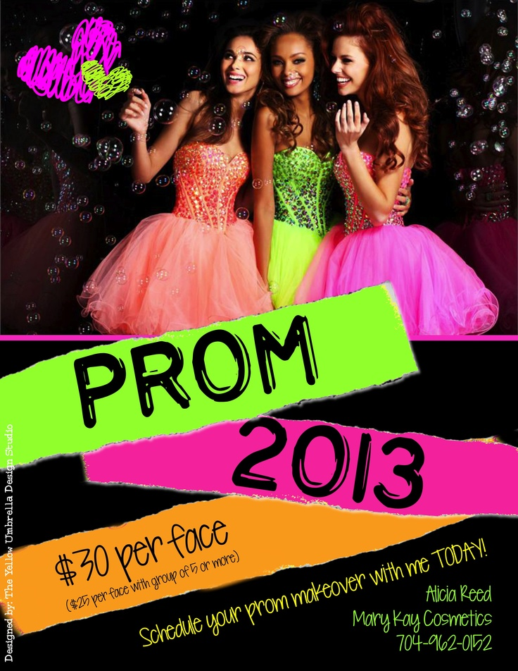 2013 Prom Promo for Mary Kay #marykay | Mary Kay Materials