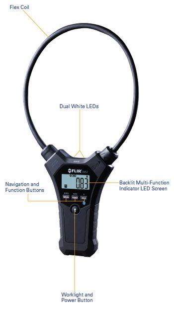 FLIR CM55 and CM57 Flexible Clamp Meters