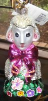 Christopher Radko HONEY LAMB Easter Ornament VERY RARE
