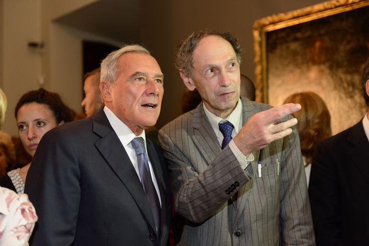 Pietro Grasso e Sergey Androsov
