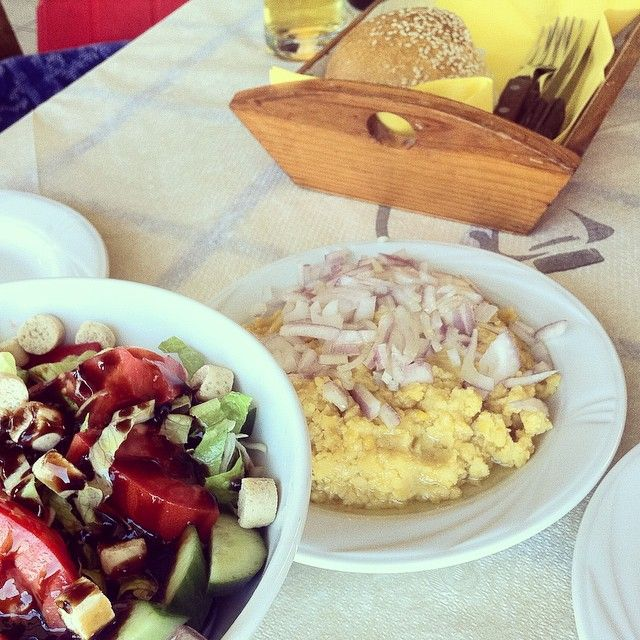 Cretan dishes...All in frond of you! #MInosBeach