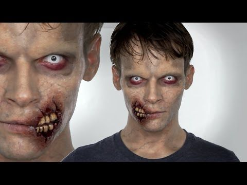 http://silviaquirosblog.com/en/2011/10/maquillaje-halloween-5-zombie-fx-efectos-especiales.html Hi everyone, today I am doing another Zombie halloween make u...