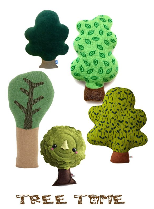someone made these but I'm sure you could draw some wonderful trees, with birds and nests...oh yes, and a swing!!