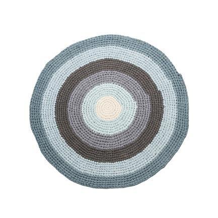 Hæklet gulvtæppe