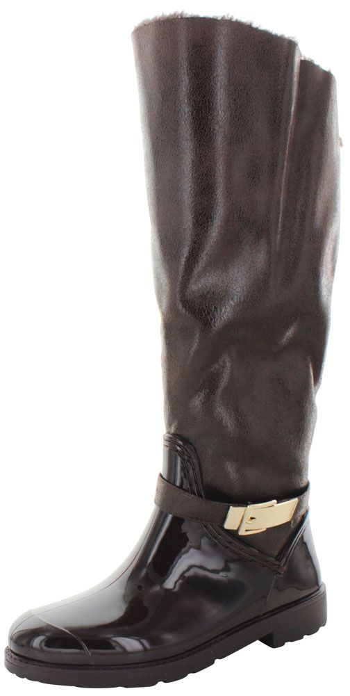 • Fashion Highlights: Inspired by high end luxury labels, the Moda Essentials Stormy boot is a hybrid of a classic riding boot and elegant rain boot! These unique boots feature: soft faux distressed leather or croc print faux leather upper with rubber waterproof toe, fully lined faux fur inside with full size zipper for easy on and off, lightly padded insole, and a rubber outsole! | eBay!