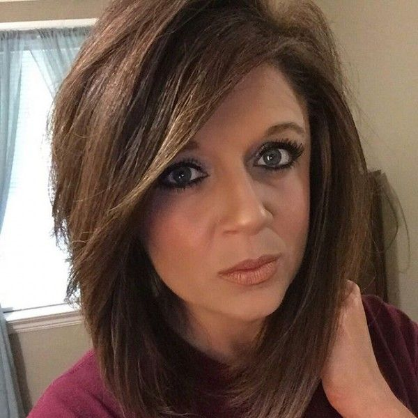 Shaggy Layered Angled Bob Hairstyles for Women
