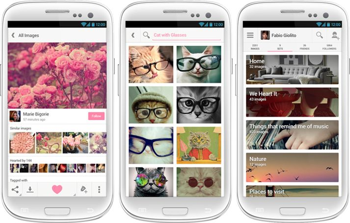 We Heart It for Android Apk free download