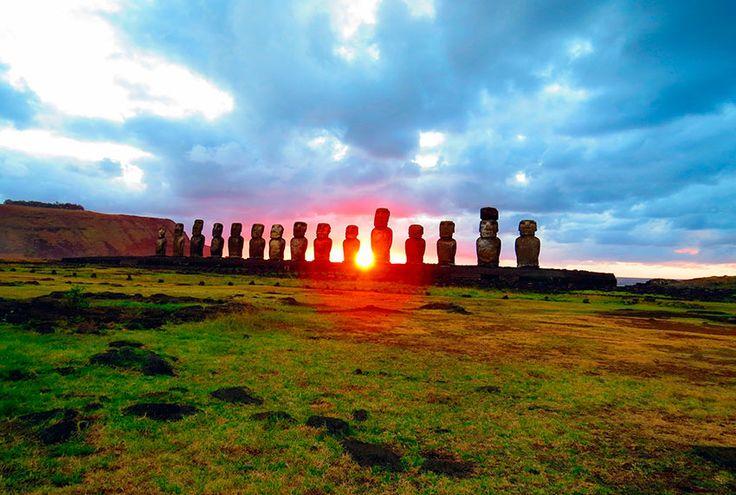 Chile Fotos Isla de Pascua