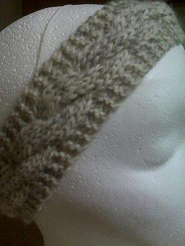 Ravelry: Cable Headband pattern by Jenny Newman